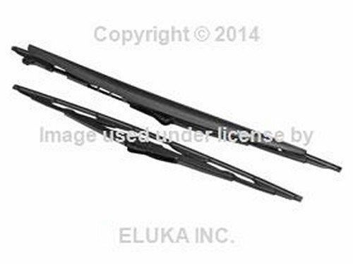 BMW OEM Wiper Blade Set - Standard Type E46 61 61 9 071 613 320i 323Ci 323i 325Ci 325i 325xi 328Ci 328i 330Ci 330i 330xi M3 (Bmw E46 Type)