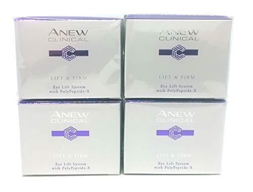 4 x AVON Anew Clinical Lift & Firm Eye Lift System 20ml - 0.