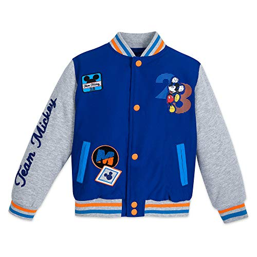 Disney Mickey Mouse Varsity Jacket for Kids - Personalized Size 2 -