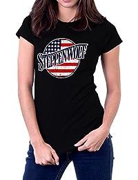Steppenwolf Band Legacy Series USA Flag Women's T-Shirt
