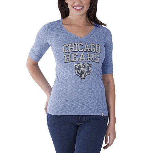 NFL Chicago Bears Women's '47 Brand Roster Tee, Olympic Blue, Small