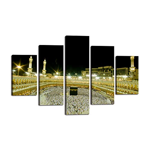 ae49c65e713b5 Wall Art Canvas Jerusalem Modern Painting Artwork Islamic Pictures ...