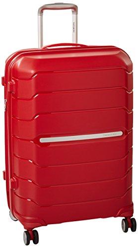 Samsonite Octolite Spinner Unisex Medium Red Polypropylene Luggage Bag TSA Approved I72000005