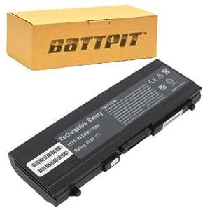 Battpit Bateria de repuesto para portátiles Toshiba Satellite 5200-901 (6600 mah)