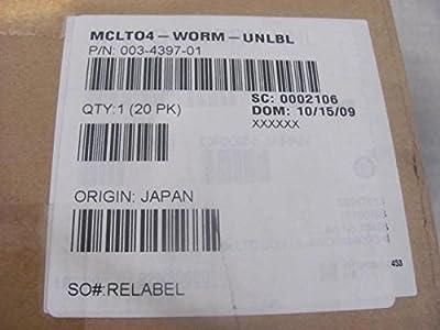 Sun LTO Ultrium 4 800GB WORM 1/2'' Tape Cartridge 003-4397-01 T13170 by Sun Microsystems