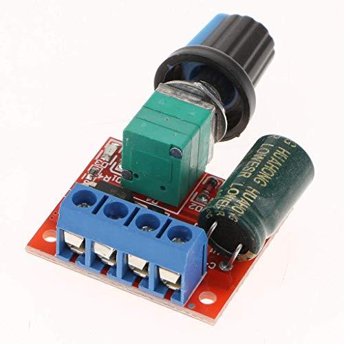 nouler Juler Mini 5A Motor Pwm Speed Controller Dc 4.5V-35 V Speed Control Switch for Led Dimmer