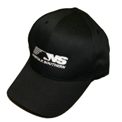Daylight Sales Norfolk Southern Thoroughbred Logo Embroidered Hat [hat68] Black (Norfolk Hat Southern)
