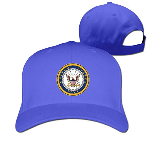 Seal of The United States Navy Classic Snapback Baseball Cap Sport Caps for Men and Womens