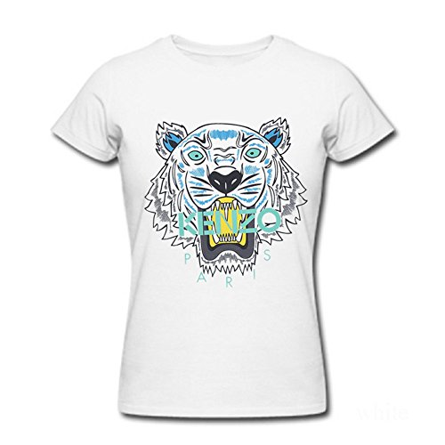 Price comparison product image Ahhsywv Womens T-shirts Classic Style Kenzo White Size M