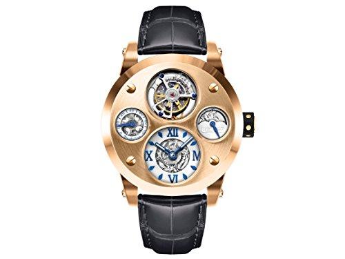[Limited Edition] Memorigin MO-0147 :Mark Lui's masterpiece - The Time Machine Tourbillon - Golden