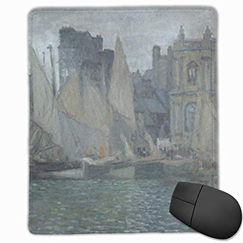 Cute Small Computer Gaming Mouse Pad, Non-Slip Rubber Base Mouse Pads, Havre Museum Multi-Function Mousepad