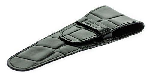 Taylor of Bond Street Finest English Leather Safety Razor Case - Black