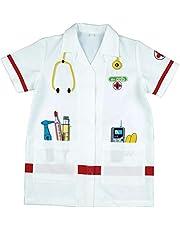 Theo Klein 4614 Doktersjas I Kwalitatief hoogwaardige outfit I Afmetingen: lengte ongeveer 55 cm I Speelgoed voor kinderen van 3 tot ongeveer 6 jaar
