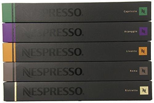 Nespresso Variety Pack for OriginalLine, 50 Capsules, 1.76 oz