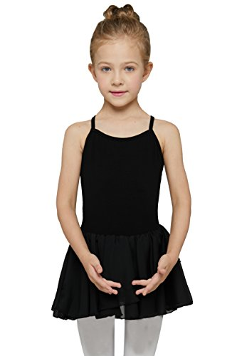 MdnMd Girls' Skirted Camisole Leotard (Tag 110) Age 2-4, - Dress Camisole Dance