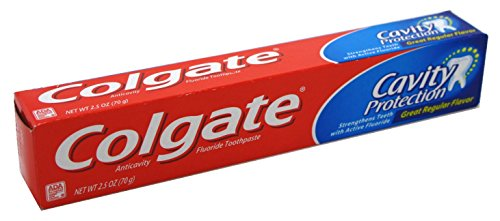(Colgate Toothpaste Cavity Protection Regular 2.5 Ounce (6 Pieces) (73ml))