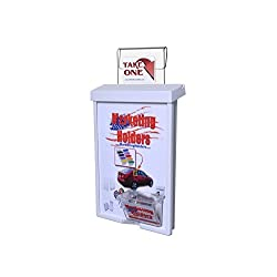 Marketing Holders Outdoor Vehicle Brochure Flyer 9x11 with Card Box Holder
