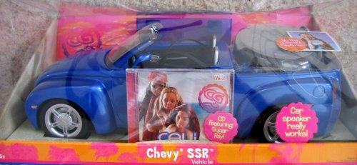 - Barbie - Cali Girl Chevy SSR Vehicle w CD Player & Sugar Ray CD (2004)