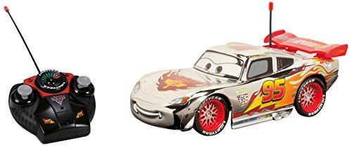 Majorette - 213089580 - Radio Commande - Voiture - Cars Silver McQueen - Echelle 1:24 - 17 cm