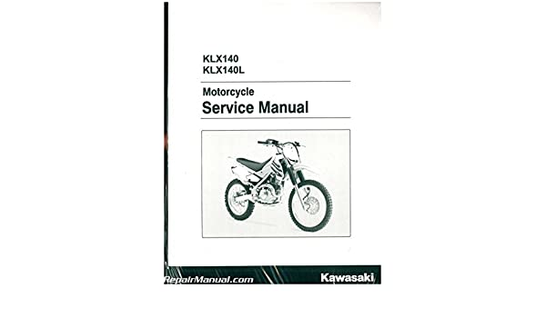 99924 1390 10 2008 2017 Kawasaki KLX140 KLX140L Motorcycle
