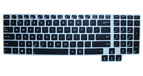 Silicone Keyboard Protector 17 3 inch Semi Black