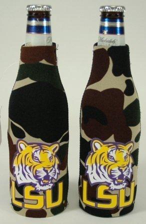 SET OF 2 LSU TIGERS CAMO BOTTLE SUIT (Lsu Tigers Camo)