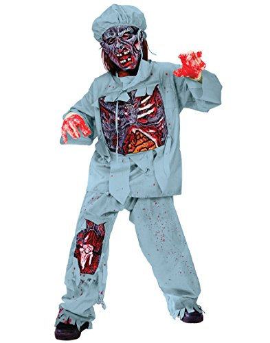 Zombie Doctor Costume - (Scary Masks For Halloween For Sale)
