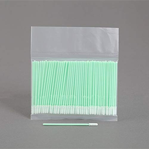 Printer Parts 500 pcs Cleanroom ESD Cleaning swabs Sticks Polyester tip - Alternative to Texwipe Tx758B Micro Alpha Swab