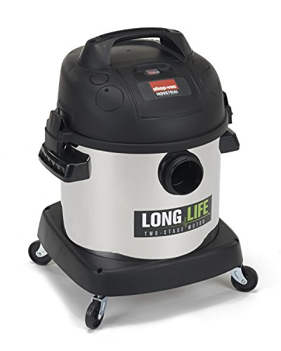 Shop-Vac 9272410 2.0 Peak HP Long Life Stainless Steel Wet Dry Vacuum, 4-Gallon For Sale