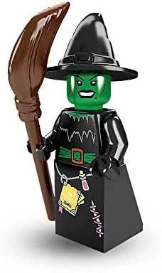 Besen Hexe unbespielt Minifig new Lego® Figur Wacky Witch