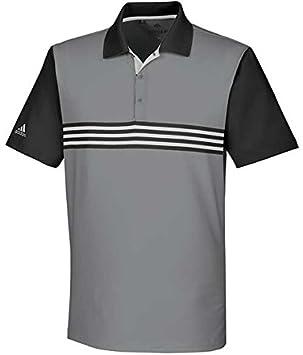 5b6bfe03 adidas Men's Ultimate 365 3-Stripes Polo Shirt, Grey Three/Black, Large:  Amazon.co.uk: Sports & Outdoors