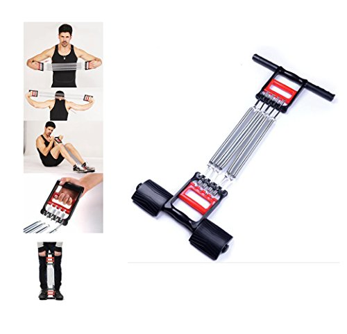 Tonyko 3 In 1 Home Fitness Equipment Spring Exerciser Chest Expander Pull-up Bars