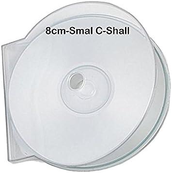 MasterStor - Caja de plástico de alta calidad para CD y DVD, color ...