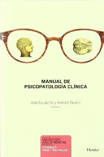 Descargar Libro Manual De Psicopatología Clínica Adolfo Jarne