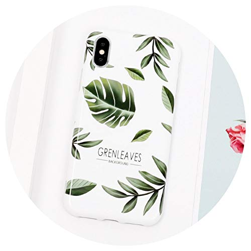 (Prickly Pear Cactus Leave Plant IMD Soft Phone Case for iPhone 6 6S 7 8 Plus XS X XS MAX XR Glossy Phone Back Cover Case,3,for iPhone 6 6S)