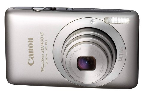 Cheap Canon PowerShot SD1400IS 14.1 MP Digital Camera with 4x Wide Angle Optical Image Stabilized Zoom and 2.7-Inch LCD (Silver)
