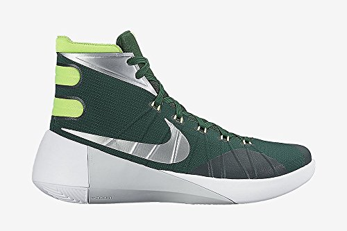 Nike Herren Hyperdunk 2015 Basketballschuh Grün Weiß