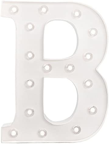 American Crafts Heidi Swapp 10 Inch Marquee Letters Letter B