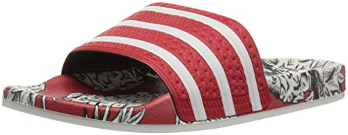 Adulto White Ciabatte Unisex Adidas scarlet Adilette off Scarlet thCQdrs