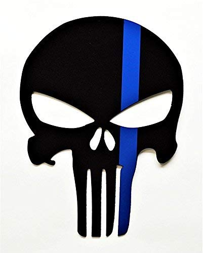 - Limited Edition Punisher Police Tribute Wall Art
