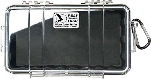 Peli 1060 WL WI-BK CLR Schutzkoffer mit Innen schwarz