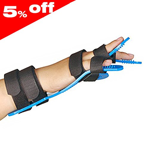 Medical Separate Fingers Orthosis For Adults Finger Hand Brace Board Hemiplegia Splint Extension Fixed Clamp Fracture Sprain Recovery Posture Correction Medical Spasm Extension by Furlove