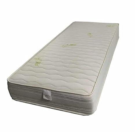 Flexar Double Memory sfoderabile- colchón de espuma Memory Alto 20 cm con capa de Memory