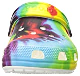 Crocs Unisex-Kid's Classic Tie Dye Clog | Slip on