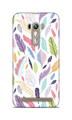Shengshou Mobile Back Cover for Asus Zenfone Selfie ZD551Kl 5.5 in Girlie Pattern SS120T37504
