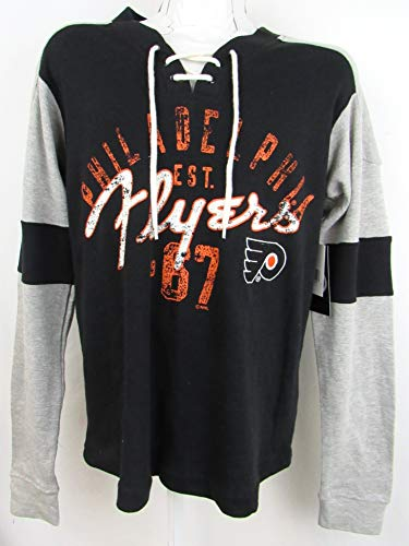 G-III Sports Philadelphia Flyers Mens Size Large Waffle/Thermal Shirt AFLY 51 L