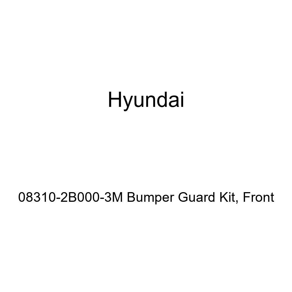 Front Genuine Hyundai 08310-2B000-3M Bumper Guard Kit