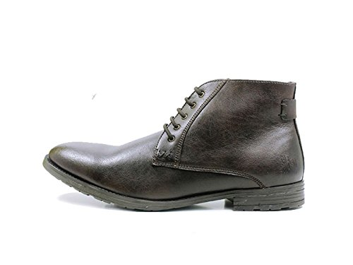 will's Mens The Chukka Vegan Boot (8, Black)
