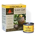 OutDoozie Fire Accent Citronella Solid Gels, Pack of 6