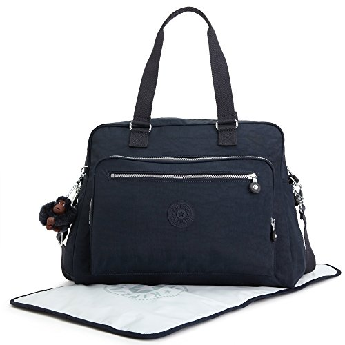 Kipling Alanna Baby Bag with multiple compartments, True Blue